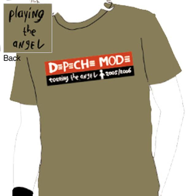Depeche Mode - Touring the Angel Olive T-Shirt