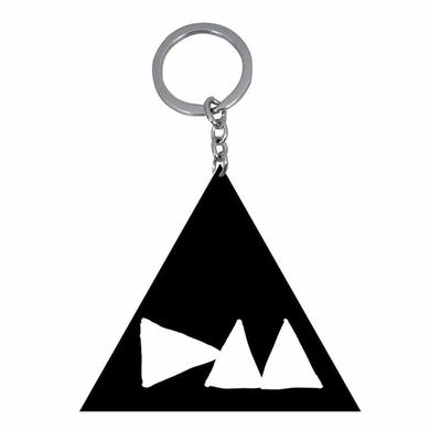 Depeche Mode DM Logo Metal Black Keychain