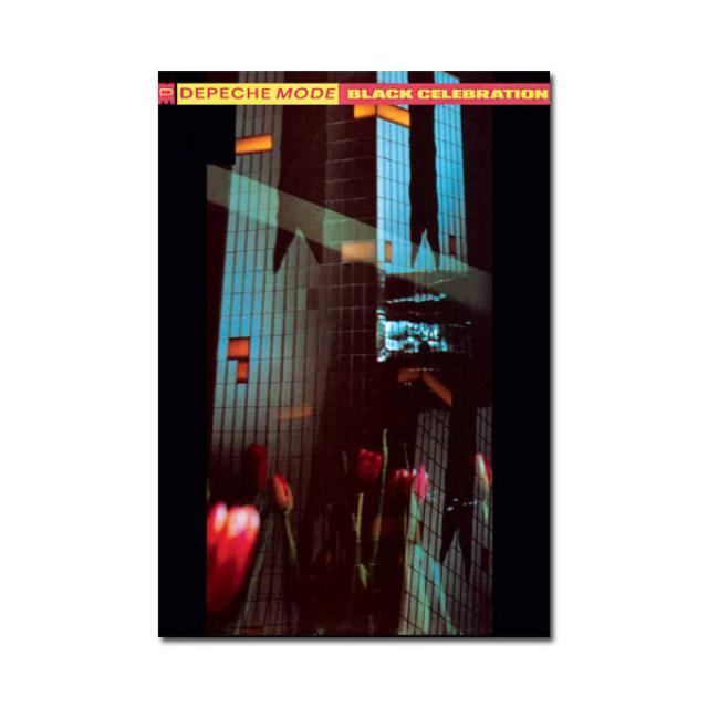 Depeche Mode Black Celebration Limited Edition Lithograph