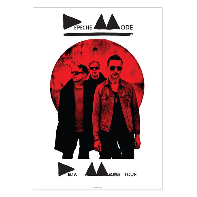 Depeche Mode Delta Machine Limited Edition Lithograph