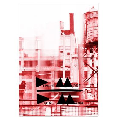 Depeche Mode Delta Machine Limited Edition Album Cover Lithograph
