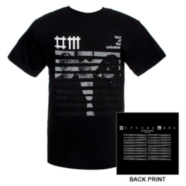 Depeche Mode Striped Band Tour Tee