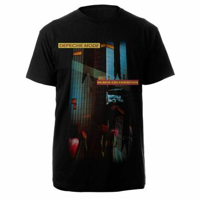Depeche Mode Celebration Black Vintage T-shirt