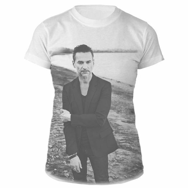 Depeche Mode Dave Gahan Allover White Babydoll