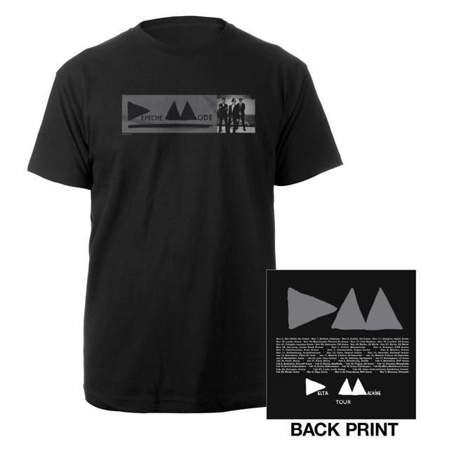 Depeche Mode DM Small Photo Black T-Shirt