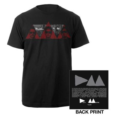 Depeche Mode 3 Red Triangles T-Shirt