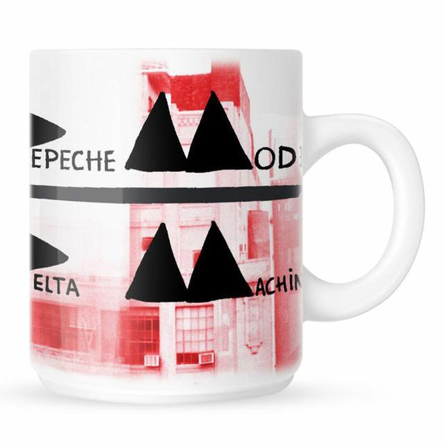 Depeche Mode Album Cover White Mug