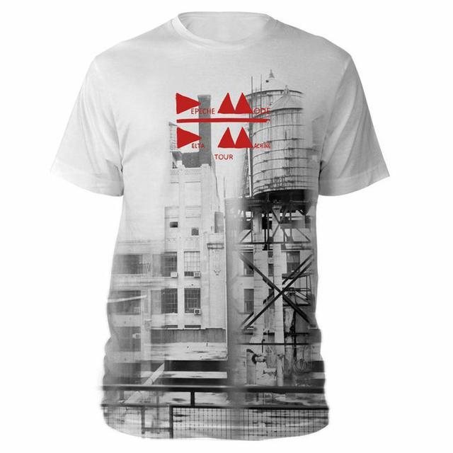 Depeche Mode Delta Album Cover White T-shirt