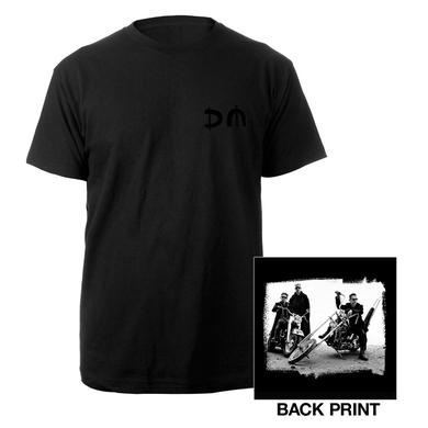 Depeche Mode DM/Bike Photo Black T-shirt