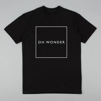 Oh Wonder Black Square T-Shirt
