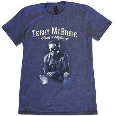 Terry McBride Heather Blue Tee