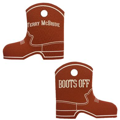 Terry McBride Texas Orange Boot Coolie