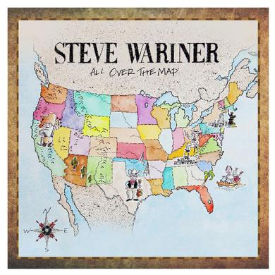 Steve Wariner CD- All Over the Map