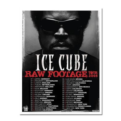 "Ice Cube ""Raw Footage Tour"" Litho"
