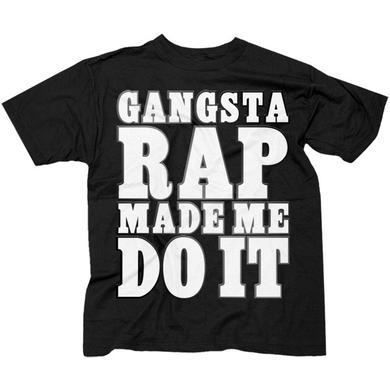"Ice Cube ""Gangsta Rap Made Me Do It"" T-Shirt"