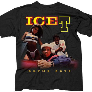"Ice-T ""Rhyme Pays"" T-Shirt"