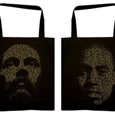 """Damian Marley & Nas """"Lyrical Face"""" Tote Bag"""