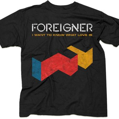 "Foreigner ""I Want To Know What Love Is"" T-Shirt"