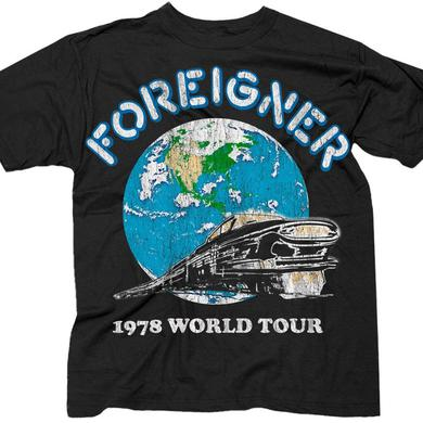 "Foreigner ""Tour"" T-Shirt"