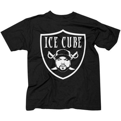 "Ice Cube ""Raider"" Black T-Shirt"