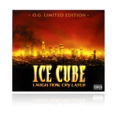 "Ice Cube ""Laugh Now, Cry Later"" LIMITED EDITION O.G. CD / DVD combo pack"