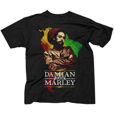 "Damian Marley ""Continent"" Mens T-Shirt"