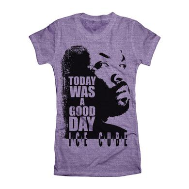 "Ice Cube ""Today Was A Good Day"" Women's T-Shirt"