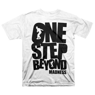 "Madness ""One Step Beyond"" T-Shirt, White"
