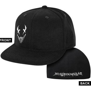 "Mushroomhead ""X-Face"" Snap Back Hat Black/White"