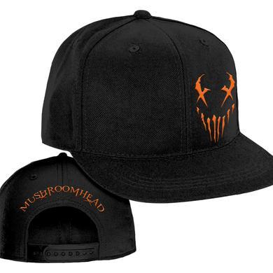"Mushroomhead ""X-Face"" snap back hat Black/Orange"
