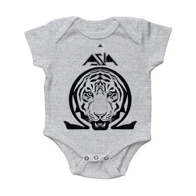 "Asia ""Omega"" Heather Grey Onesie"