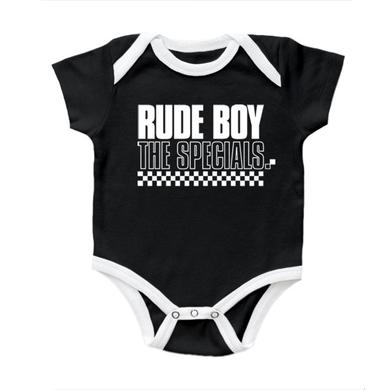 "The Specials ""Rude Boy"" Black and White Onesie"