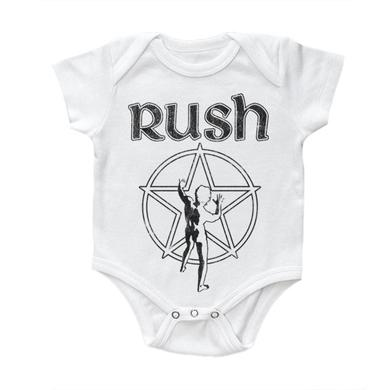 "Rush ""Starman"" White Onesie"