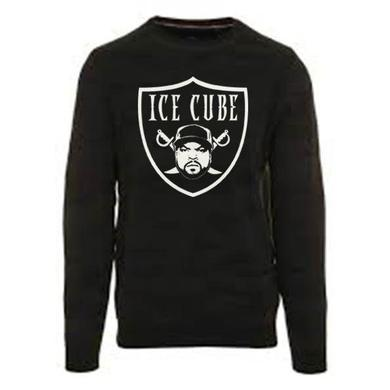 "Ice Cube ""Raider"" Black Pullover"