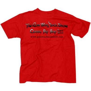 Goin' Way Back Show Official Red T-Shirt