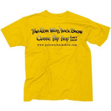 Goin' Way Back Show Official Yellow T-Shirt