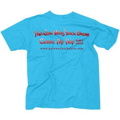 Goin' Way Back Show Official Blue T-Shirt