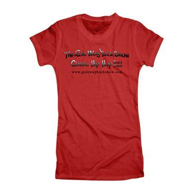 Goin' Way Back Show Official Red Women's T-Shirt