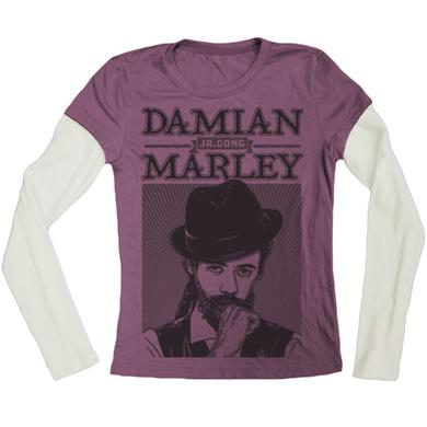 "Damian Marley ""Mr Marley"" Women's Long Sleeve T-Shirt"