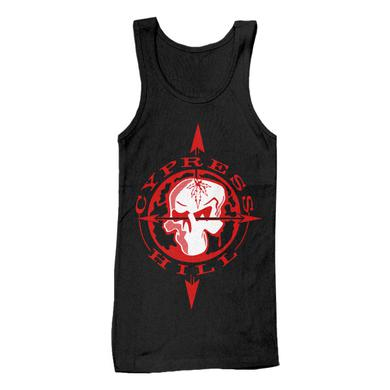 "Cypress Hill ""Skull & Compass"" Tank Top"