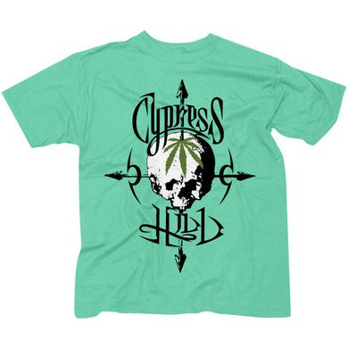 "Cypress Hill ""Pothead"" Green T-Shirt"