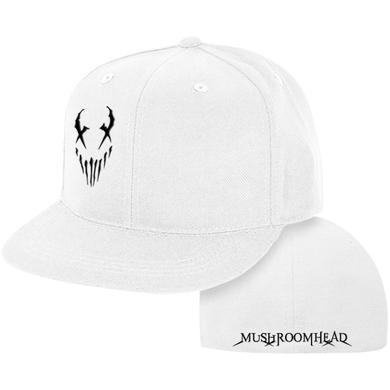 "Mushroomhead ""X-Face"" Snap Back Hat White/Black"