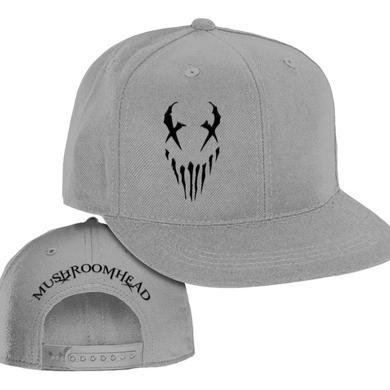 "Mushroomhead ""X-Face"" Snap Back Hat Grey/Black"