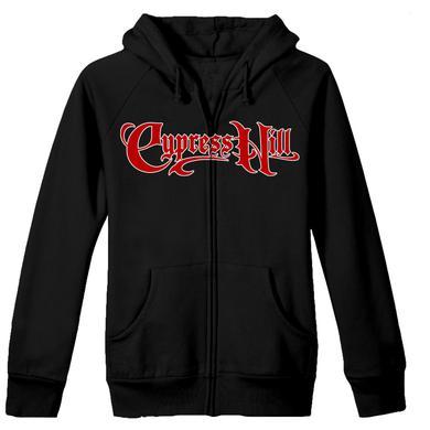 "Cypress Hill ""Skull & Compass"" Zip Hoodie"