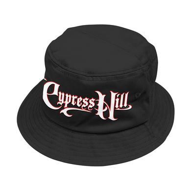 "Cypress Hill ""Script Logo"" Black Bucket hat"