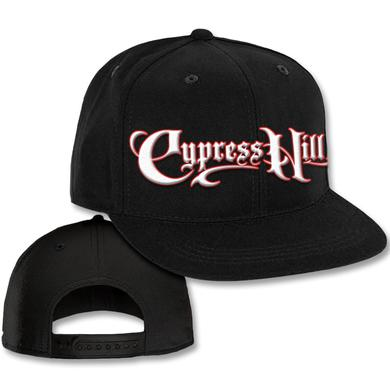 "Cypress Hill ""Script Logo"" Black Snap Back Baseball hat"