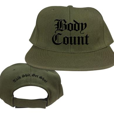 Body Count Olive Green Snap Back Hat