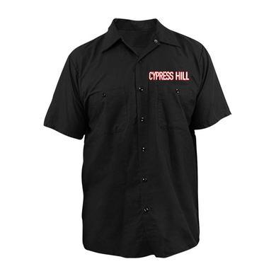 """Cypress Hill """"Block Logo"""" Work Shirt"""