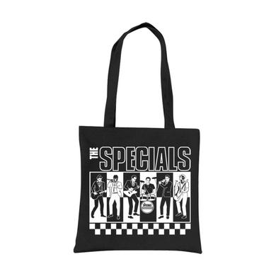"The Specials ""BW"" Black Tote Bag"