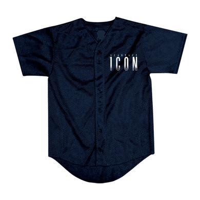 "Scarface ""Icon"" Logo Navy Blue Jersey"
